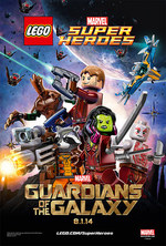 Okładka: LEGO Marvel Super Heroes - Guardians of the Galaxy: The Thanos Threat